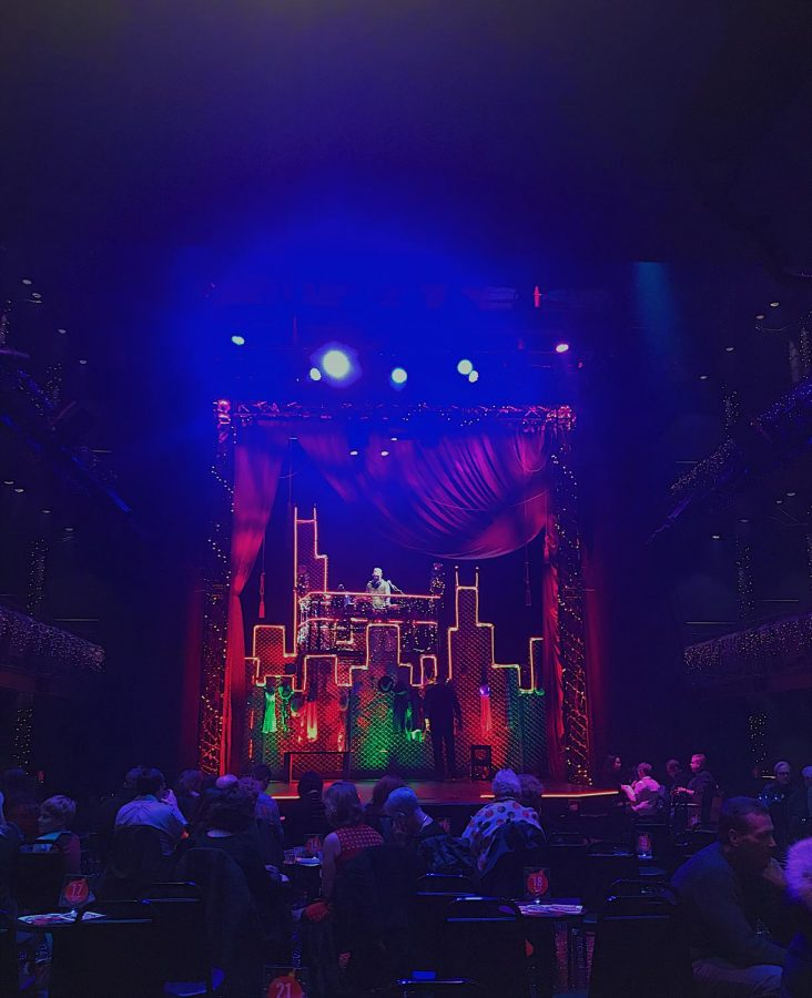 Q Brothers Christmas Carol will be performed at The Chicago Shakespeare Theaters new stage, The Yard, until Dec. 31.