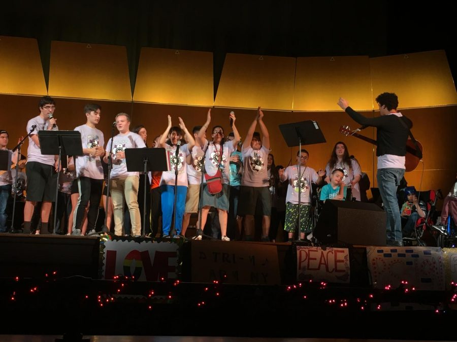 Unity club spreads positive message through music