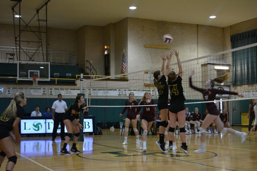 On August 27, the Girls Volleyball team faced Loyola on opening day losing in two sets 25-20, 25-16.