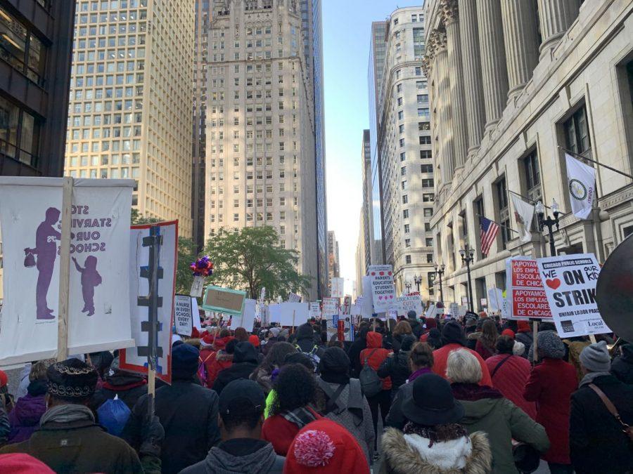 CTU/SEIU rally outside City Hall ahead of Lightfoot's budget address