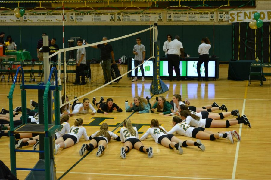 On Oct. 12, the Girls Volleyball team faced Payton in the quarterfinals losing in three sets 25-21, 25-22, 25-15.