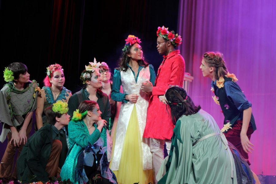 """This years fall play, """"A Midsummer Night's Dream,"""" will open on Tuesday, Nov. 12 at 3:45 p.m."""