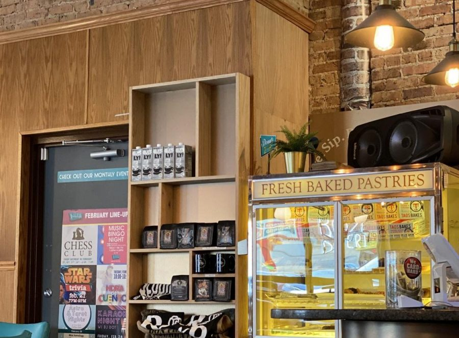 Interior of The Avondale Coffee Club: 3185 N Elston Ave.