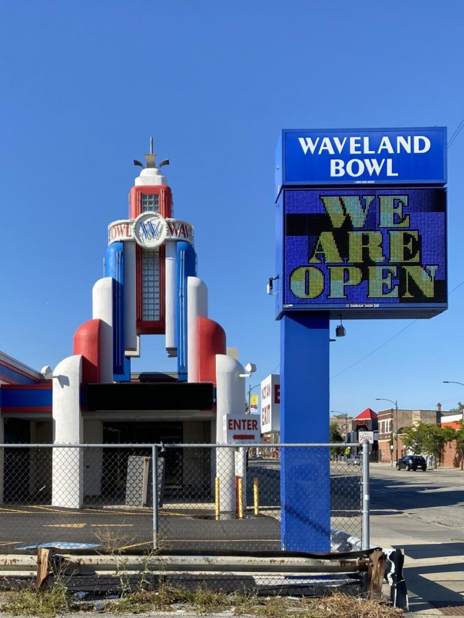 Waveland Bowl open and ready for customers on Sunday, Sept. 13, 2020.