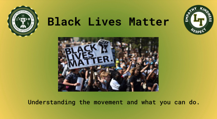 During advisory on Oct. 7, teachers presented a slideshow about the Black Lives Matter movement to students (Screenshot from advisory lesson)