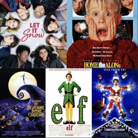 As coronavirus cases are on the rise, people are looking for alternatives to traditional holiday celebrations — on the list, holiday movie marathons. (Photo credits clockwise from top right: Netflix/Dylan Clark Productions, Hughes Entertainment, Hughes Entertainment, Warner Bros/New Line Cinema, Disney/Touchstone Pictures/Skellington Productions)