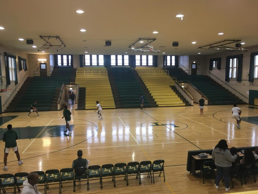 Following Tuesday's announcement, basketball will return to Lane's gymnasiums, starting with tryouts and practices, and then spectator-less games. (File photo)
