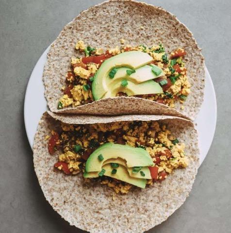 Since becoming vegan, Katherine Zurawski has discovered various ways to prepare new food, like tofu, to incorporate protein and nutrients into her diet. (Photo Courtesy of Katherine Zurawski)