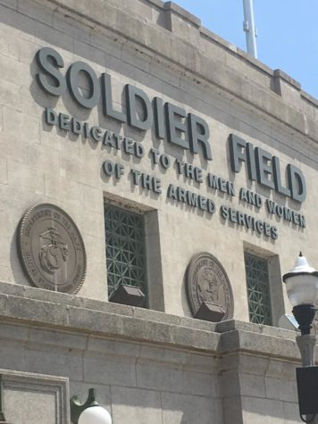 Soldier Field in July 2018. The home of the Chicago Bears will be host to Lane Tech