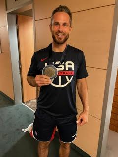 LoGalbo poses with gold medal (Photo Courtesy of LoGalbo)